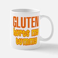 Gluten Hurts My Tummy Mug