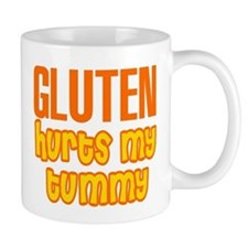 Gluten Hurts My Tummy Mug