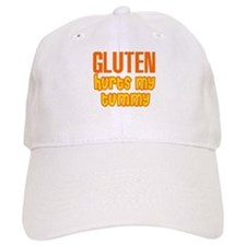 Gluten Hurts My Tummy Baseball Cap