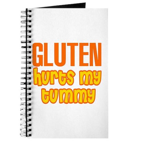 Gluten Hurts My Tummy Journal