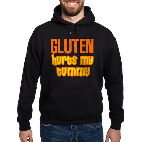 Gluten Hurts My Tummy Hoodie (dark)