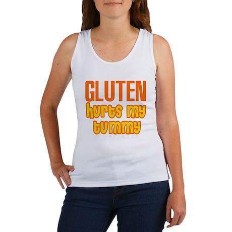 Gluten Hurts My Tummy Women's Tank Top