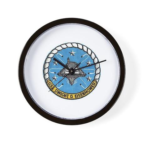 USS Eisenhower CVN 69 Wall Clock