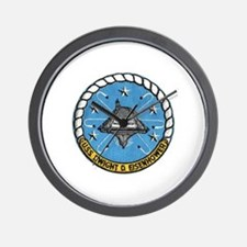 USS Eisenhower CVN 69 Wall Clock
