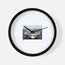 USS Eisenhower Ship's Image Wall Clock