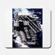 USS Eisenhower Ship's Image Mousepad