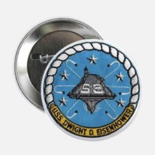 USS Eisenhower CVN 69 Button