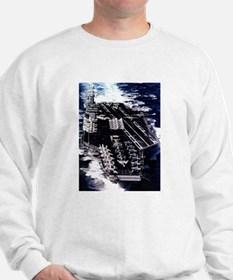 USS Eisenhower Ship's Image Sweatshirt