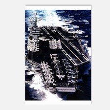 CVN 69 Ship's Image Postcards (Package of 8)