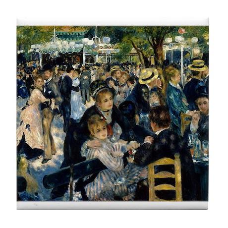 Renoir Moulin de la Galette Tile Coaster