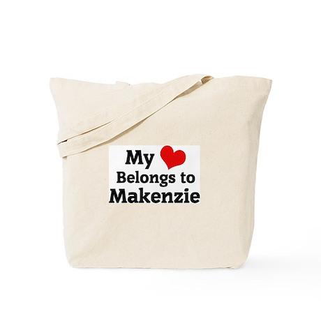 My Heart: Makenzie Tote Bag