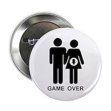 "Game Over 2.25"" Button"