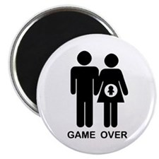 """Game Over 2.25"""" Magnet (10 pack)"""