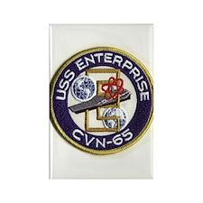 USS Enterprise CVN 65 Rectangle Magnet