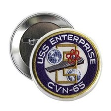 USS Enterprise CVN 65 Button
