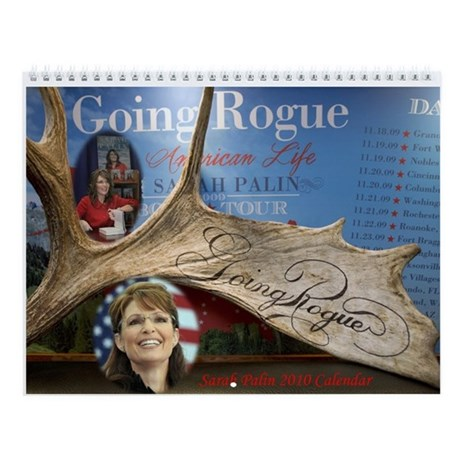 Sarah Palin Going Rouge 2010 Calendar