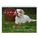Clumber spaniel Calendars