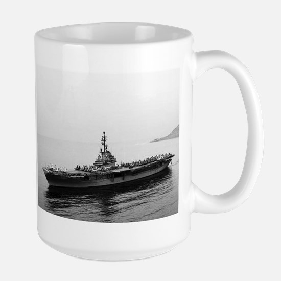 USS Essex Ship's Image Large Mug