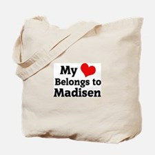 My Heart: Madisen Tote Bag