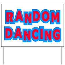 Random Dancing iCarly Yard Sign
