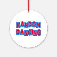 Random Dancing iCarly Ornament (Round)