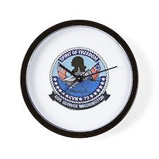 USS George Washington CVN 73 Wall Clock