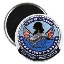 USS George Washington CVN 73 Magnet