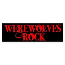 Werewolves Rock Bumper Bumper Sticker