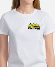 2002 05 Ford Thunderbird yellow Tee