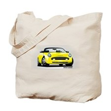 2002 05 Ford Thunderbird yellow Tote Bag