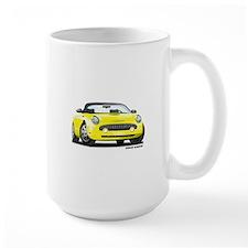 2002 05 Ford Thunderbird yellow Mug