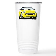 2002 05 Ford Thunderbird yellow Travel Mug