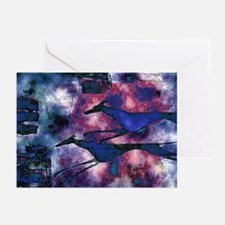 Blue Runners Greeting Cards (Pk of 20)