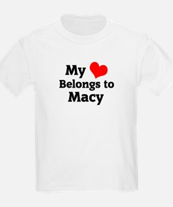 My Heart: Macy Kids T-Shirt