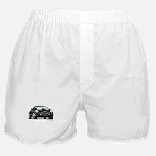 2002 05 Ford Thunderbird Blk Boxer Shorts