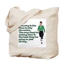 Irish Sayings, Toasts and Ble Tote Bag