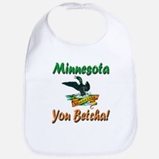 Minnesota You Betcha Bib