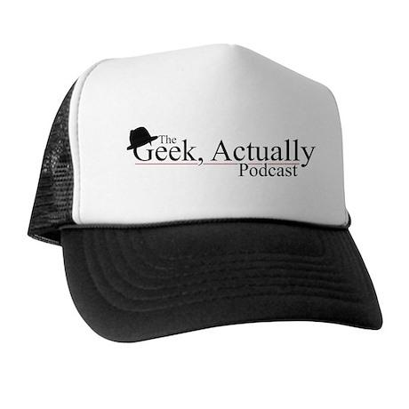 Geek Actually Classic Logo Trucker Hat