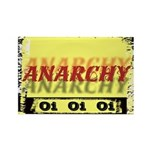 Anarchy OI OI OI Punk Rock Rectangle Magnet