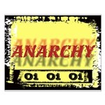 Anarchy OI OI OI Punk Rock Small Poster