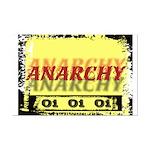 Anarchy OI OI OI Punk Rock Mini Poster Print