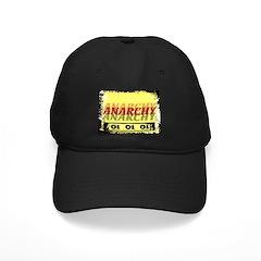 Anarchy OI OI OI Punk Rock Black Cap