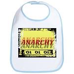 Anarchy OI OI OI Punk Rock Bib