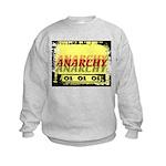 Anarchy OI OI OI Punk Rock Kids Sweatshirt