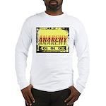 Anarchy OI OI OI Punk Rock Long Sleeve T-Shirt