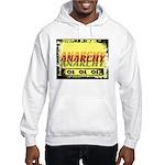 Anarchy OI OI OI Punk Rock Hooded Sweatshirt