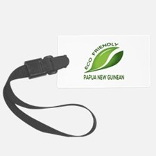 Eco Friendly Papua New Guinea Luggage Tag