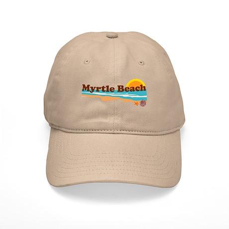 Myrtle Beach SC - Beach Design Cap