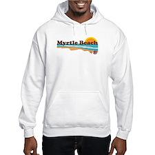 Myrtle Beach SC - Beach Design Hoodie