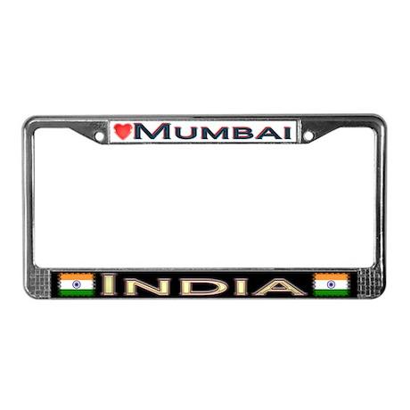 Mumbai, INDIA - License Plate Frame